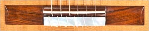 Hill Guitar, Signature bridge, Hill Guitar Company, Kenny  Hill,  281208 classical guitar