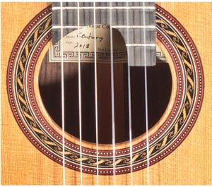 Hill Guitar, Hill Guitar Company, Kenny  Hill,  281208 classical guitar